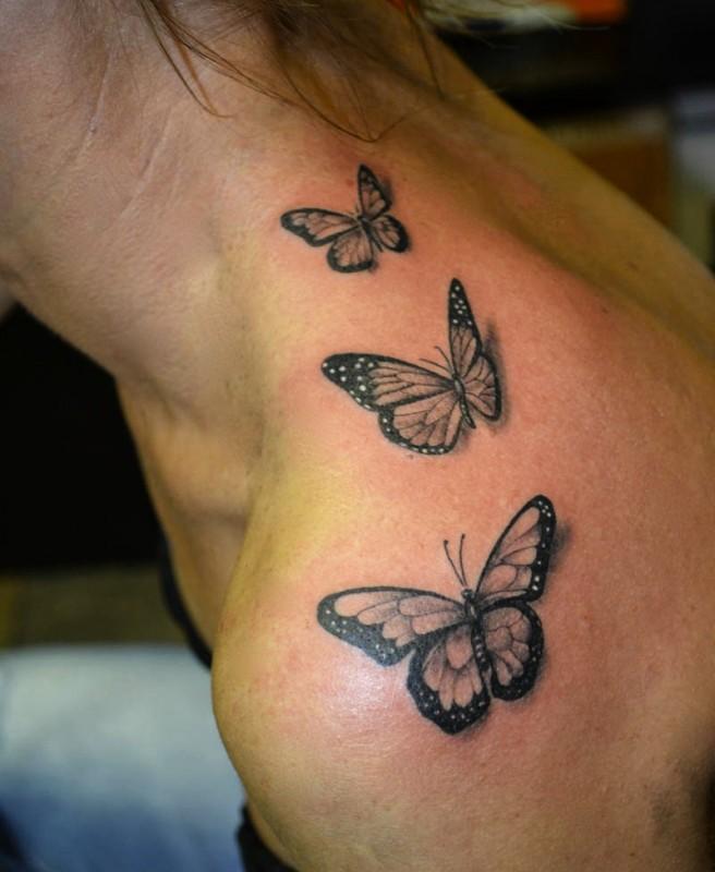 Lepke Pillangó Tetoválás Minták Képek - Westend Tattoo