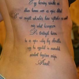 magyar idézetek tetoválásnak Idézetek Tetoválás Minták Képek   Westend Tattoo & Piercing