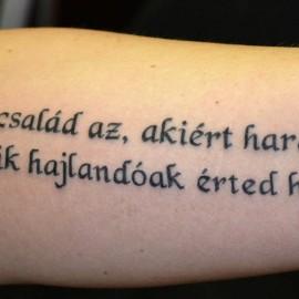 tetoválás idézetek családról Idézetek Tetoválás Minták Képek   Westend Tattoo & Piercing