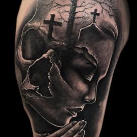 Intim tattoo totenkopf